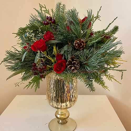 Mercury Urn Arrangement