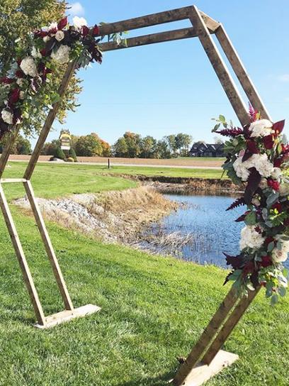 venue - Blueberry Hill Estate  Winery - Turkey Point, ON decorator - Unveiled Custom Wedding & Event Design