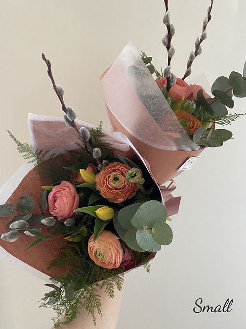 mixed spring bouquet