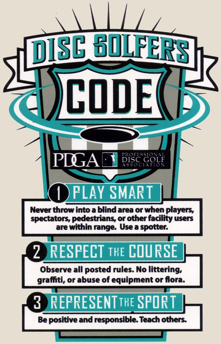 The Disc Golfer's Code