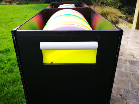 Elegant and easy DIY Disc Golf Storage Box – plans and instructions