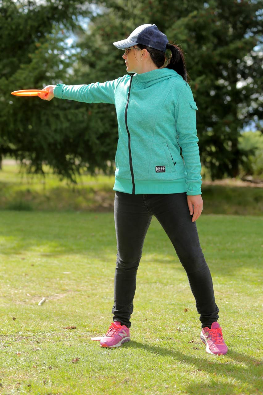 Photojenic: low testosterone disc golfer Jen Liew