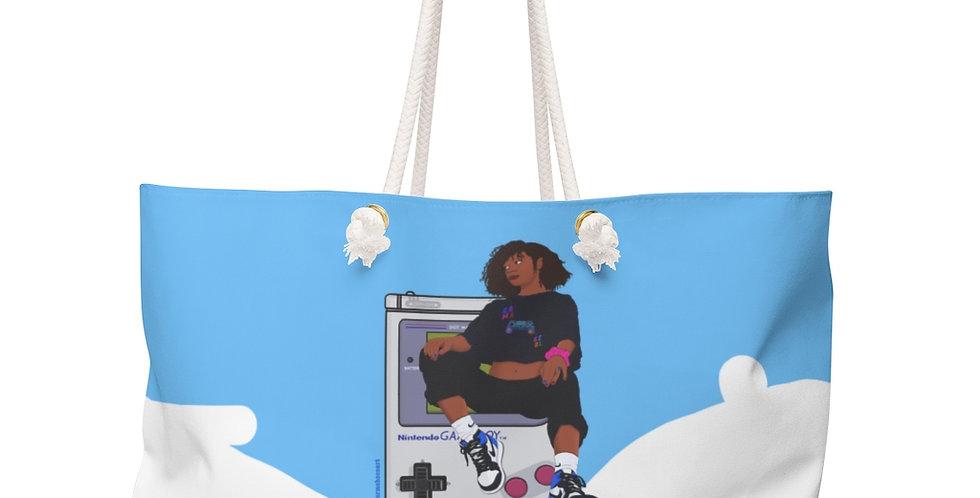 Game Girl Color Weekender Bag