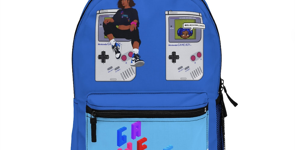 Game Girl Color Backpack