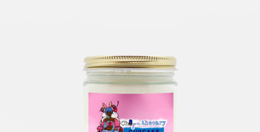 Cupcakes Candle