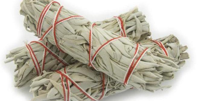 White Sage Smudge Stick - 3 Mini Bundles