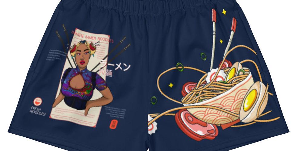 Ramen Bun Shorts