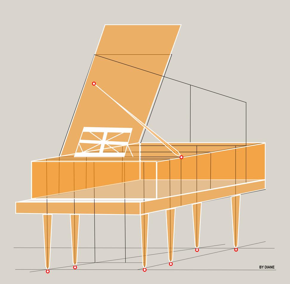FIGMA- GRAND PIANO