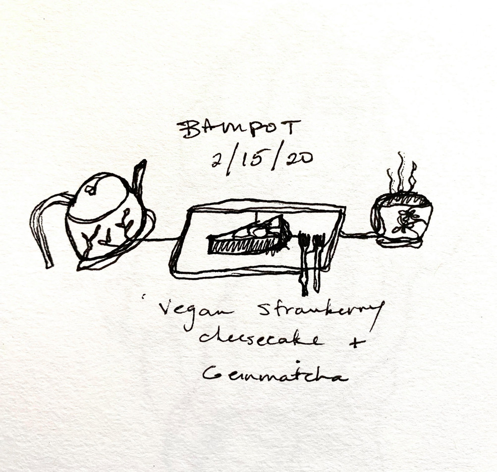 ONE LINE- BAMPOT TEA