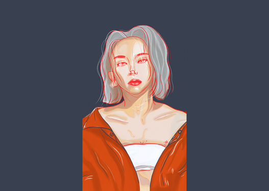LOOK FAR- CHAEYOUNG
