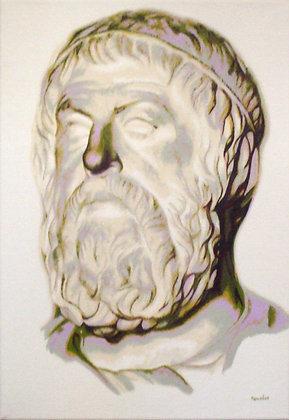 Inspiré du buste de Sophocle