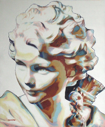 "Inspiré du ""Buste de Cupidon"" d'Agathon Léonard"