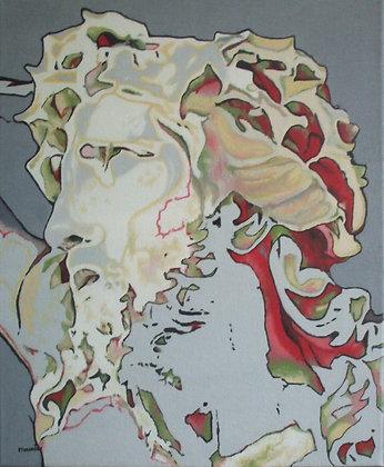 Inspiré du Christ en ivoire de J. Lefort