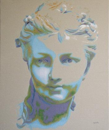 Inspiré d'un buste de jeune fille du XIXè siècle