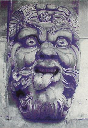 Inspiré d'un mascaron du Pont Neuf 2 (Paris, France