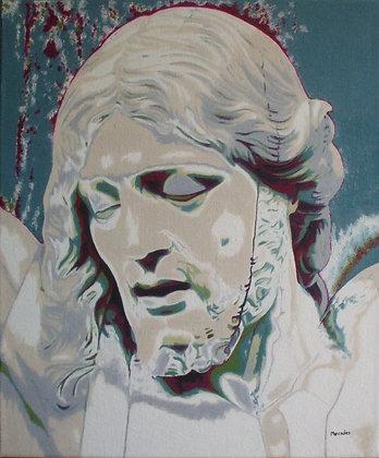 Inspiré du Christ en ivoire de P. Cruppevolle (2ème version)