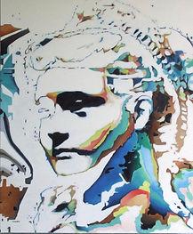 Peinture à l'huile sur toile inspirée de La Tourangelle de Delperier