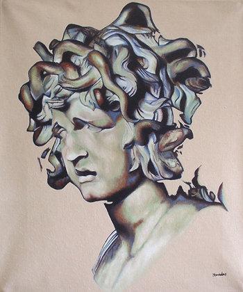 Inspiré de la Tête de Méduse de Bernini