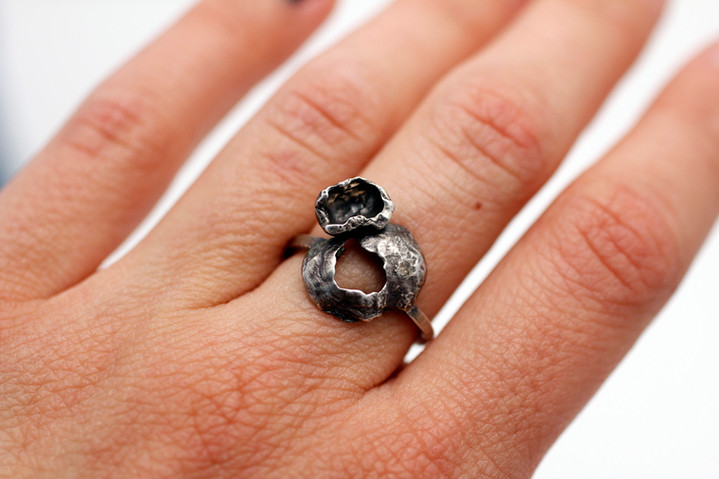 Recycled Impurities Ring #3