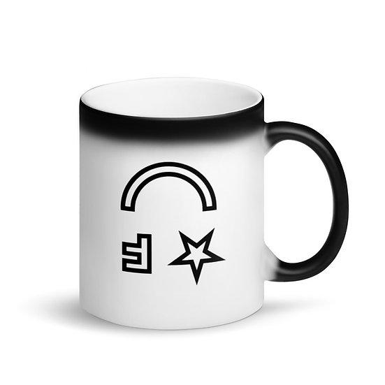 Flatform Muse Matte Black Magic Mug