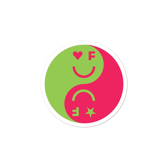 Balanced Sticker | Red&Green