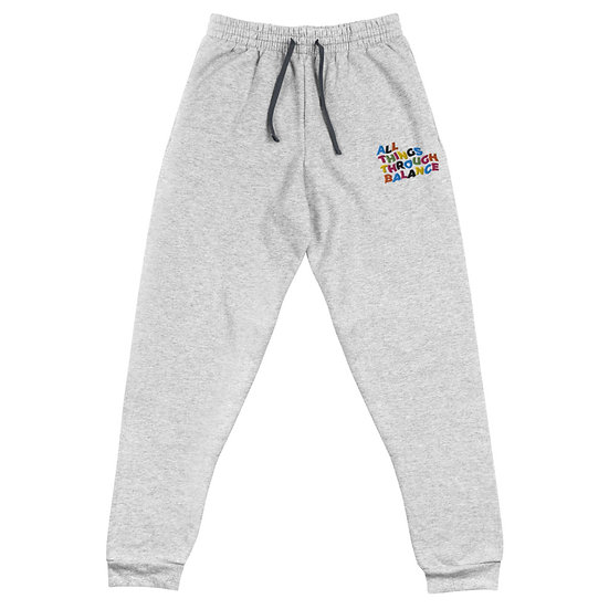 All Things Through Balance Joggers | Multi Collection | Grey