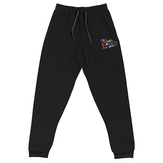 All Things Through Balance Joggers | Multi- Collection | Black