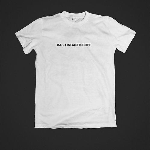 """Hashtag"" Tee | White"