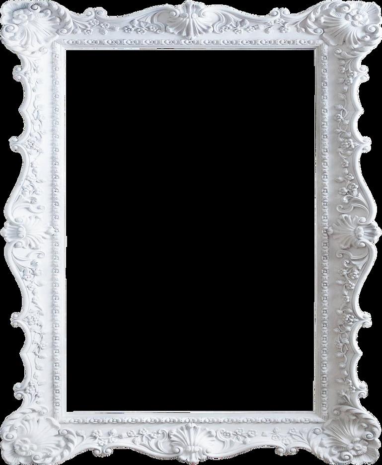 19-193292_vintage-white-frame-png-shabby