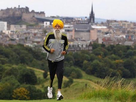 Про довголіття, фізичну активність і... марафон у 100 років:-)