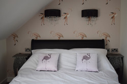 Bed and Breakfast Weymouth Dorset The View on The Terrace Flamingo Room