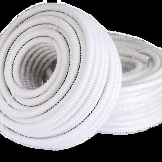 tubo scarico condensa bianco