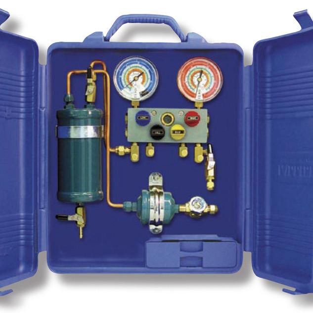 Sistema di riciclo gas refrigerante