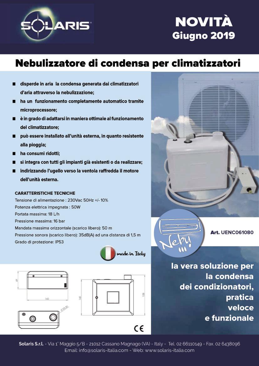 Nebulizzatore di condensa