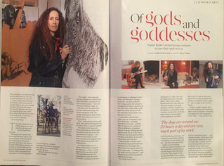 Sophie Ryder in Cotswold Life
