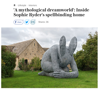 Sophie Ryder in the Telegraph
