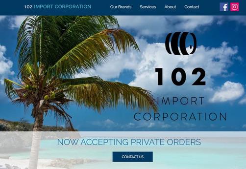 Alcohol Importer Website