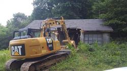 demo old garage