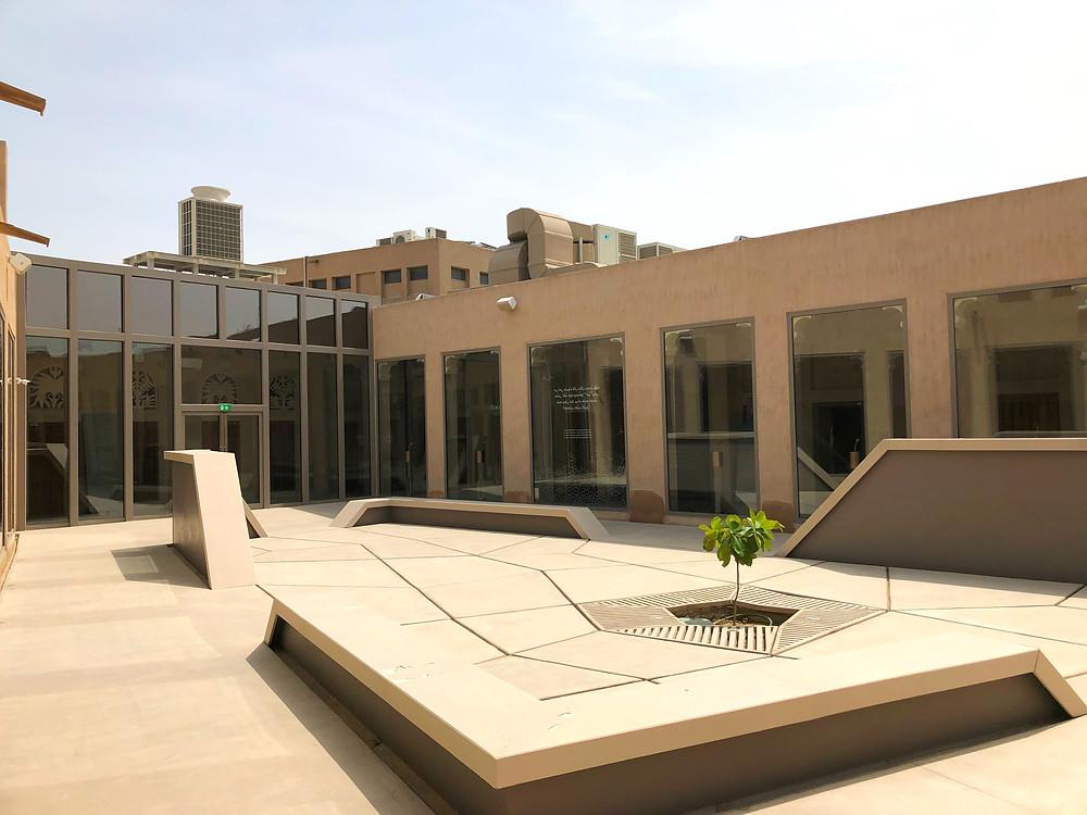 Dubai Perfume Museum, inner square