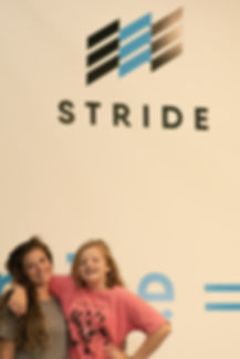Students at the Stride Learing facility