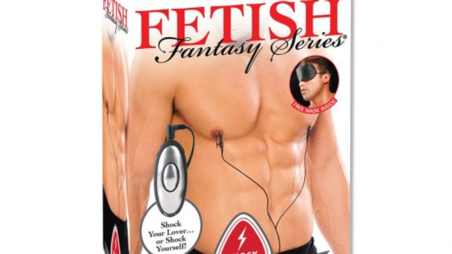 ELETROESTIMULADOR NIPPLE CLAMPS FETISH FANTASY SHOCK THERAPY