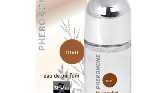 PERFUME CON FEROMONAS PARA HOMBRE SHIATSU™ 15ML
