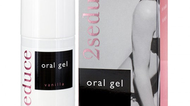 GEL ORAL 2SEDUCE SABOR A VAINILLA 50ML
