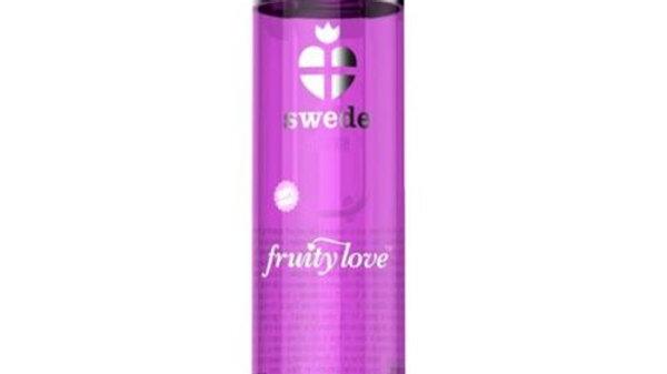 SWEDE FRUITY LOVE ACEITE EFECTO CALOR FRAMBUESA Y RUIBARBO 60 ML