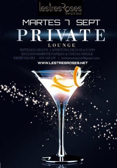 Private Lounge.Martes 7