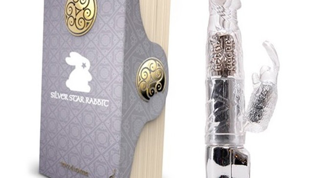 VIBRADOR MAGIC TALES SILVER STAR RABBIT