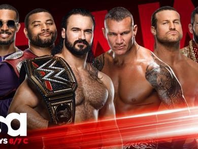 Monday Night Raw 10/5/2020