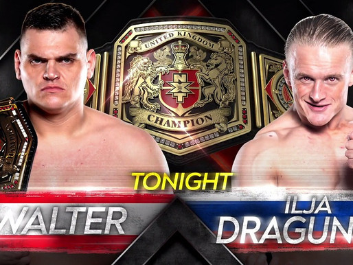 Walter VS ILJA Dragunov for the NXT UK Championship  NXT UK 10/29/2020