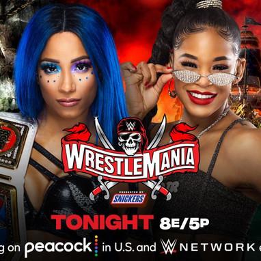 Wrestlemania 37 Night One 4/10/2021