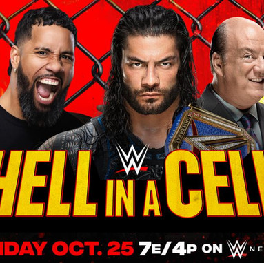 Roman Reigns VS Jey Uso For The Universal Championship Hell In A Cell 2020